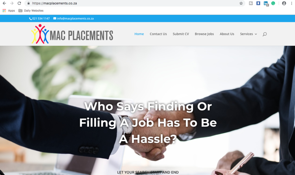 MAC Placements, ProLinkage Digital Marketing Services