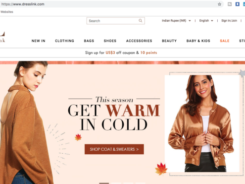 DressLink - Prolinkage Digital Marketing Case Study