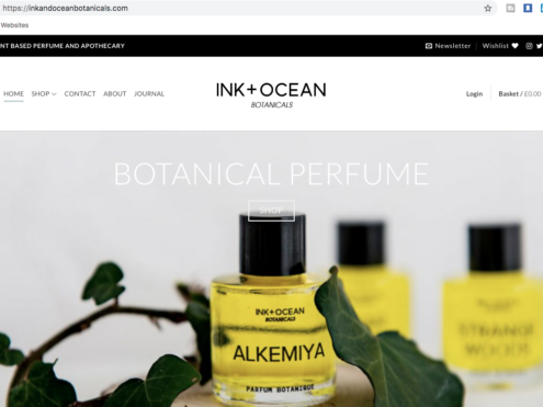 Ink & Ocean Botanicals - ProLinkage Digital Marketing Case Study